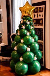 arbol navidad globos
