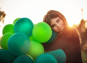 Crea tu propia decoración navideña con globos