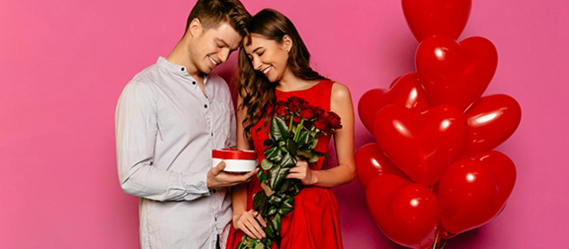 Globos para San Valentín